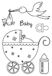 happy stempel baby