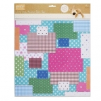 Boofle patchwork paper