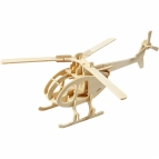 3d puzzel helikopter